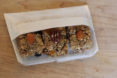 Granola Bars in wrapper