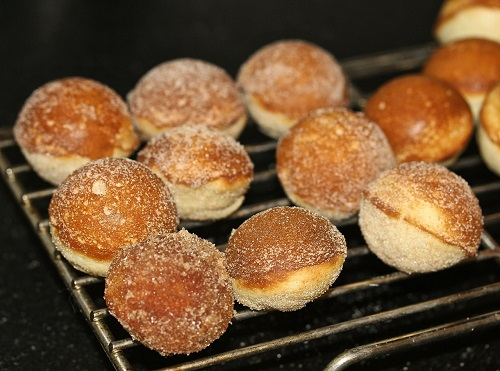 Donut Holes- Cinnamon Sugar