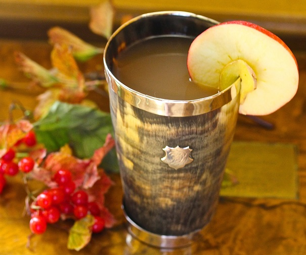 Ginger Apple Cider Hot Toddy - America's Table