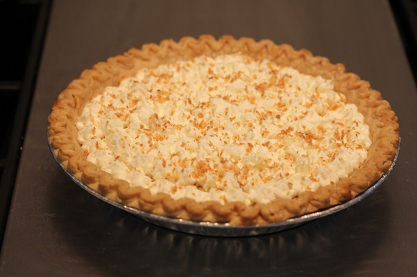 Laura Bush's Buttermilk Coconut Pie