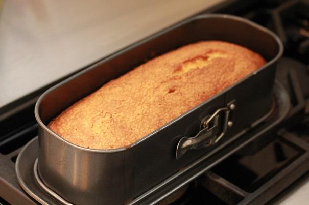 Poundcake Sundae in mold