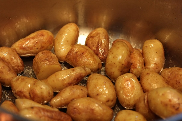 Warm Potato and Turkey Salad