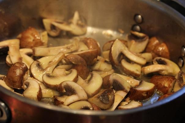 Vegetarian Supper on Americas Table Mushrooms