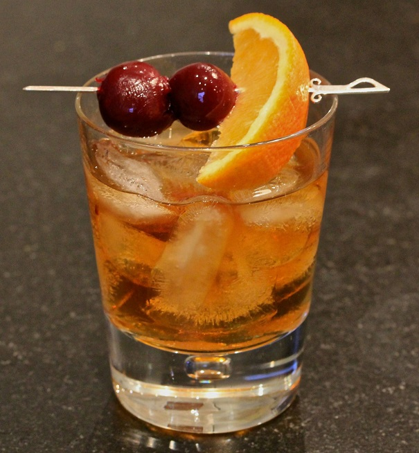Old-Fashioned with Muddled Fruit