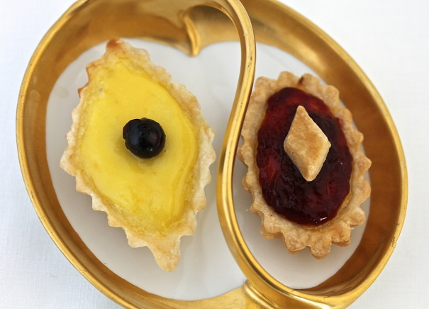 Lewis Carroll's Birthday Lemon Tarts on America's Table