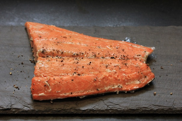 Slow Cooked Salmon with Lemon Relish on America's Table