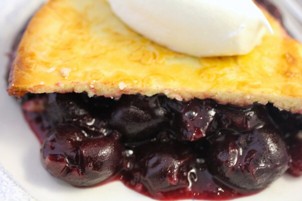 Martha Washington's Cherry Cobbler