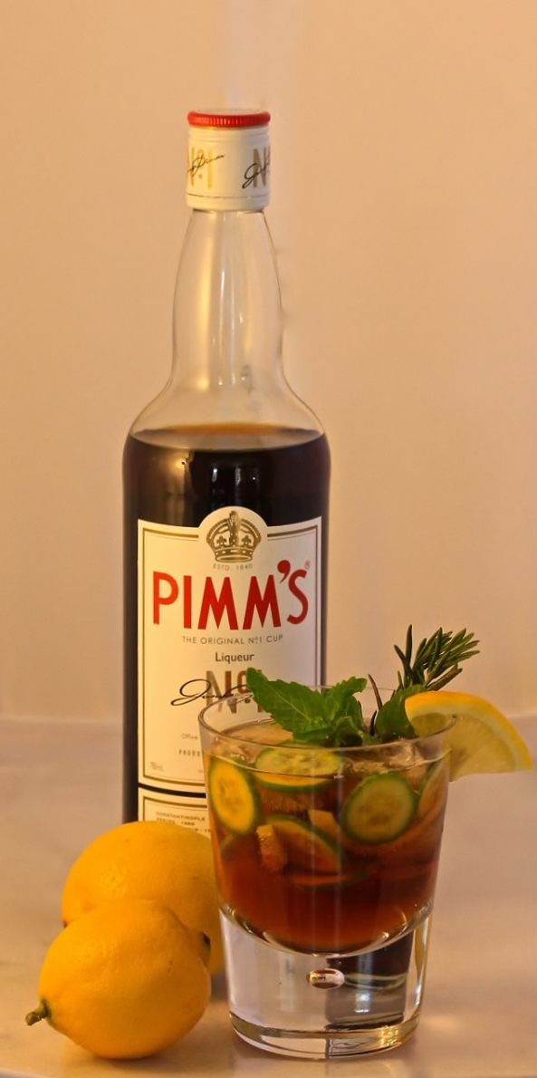 5 Spring Cocktails- Pimm's Cup 2