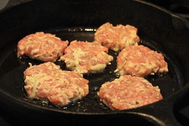 Granny Smith Sausage Patties