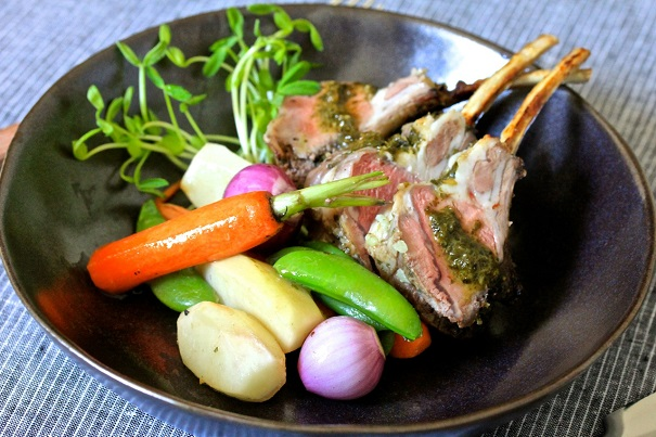 Crown Rack of Lamb Meal