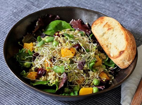 Aubaine Salad on Americas-Table.com