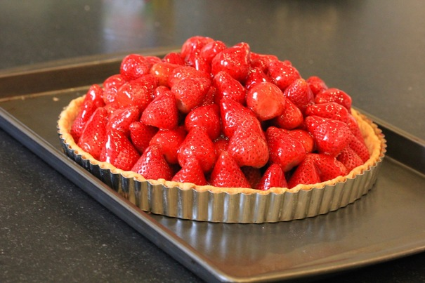 Strawberry Pie on Americas-Table.com