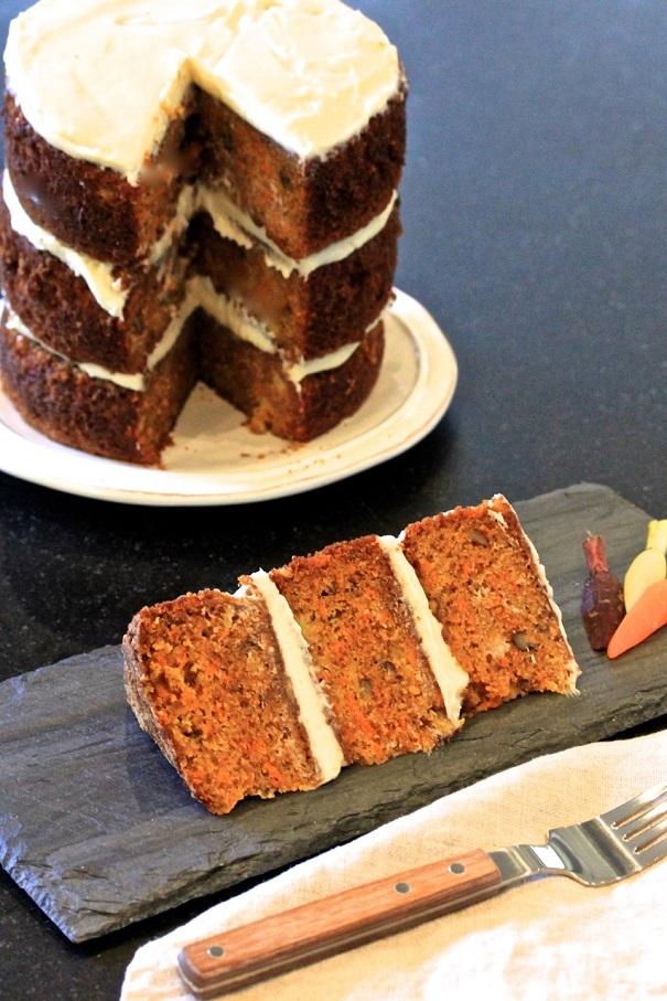 Ann Stock's Birthday Carrot Cake on Americas-Table.com