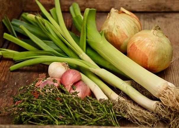 Four Allium Soup on Americas-Table.com