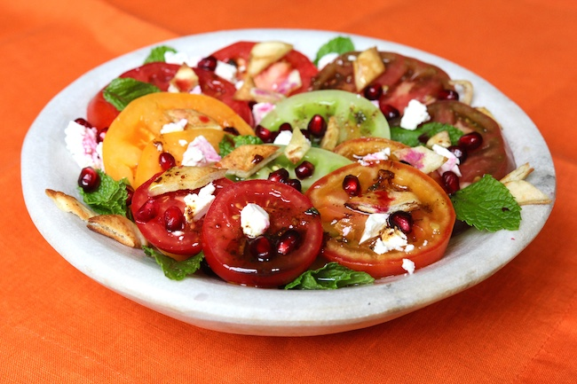 Heirloom Tomato Fattoush