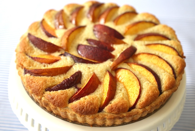 Peach Pine Nut Tart