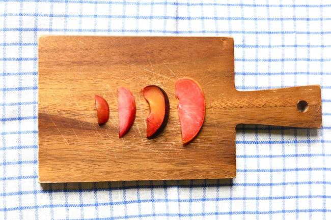 Four Plum Almond Galette