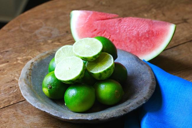 Watermelon Daiquiri Popsicles