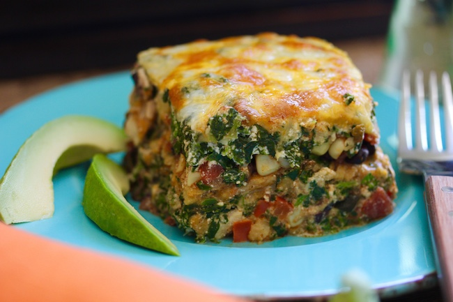 Mexican Chicken and Black Bean Lasagna by Matt Wendel