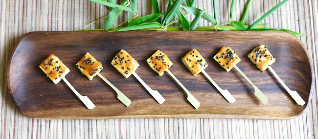 Miso Tofu Hors D'oeuvres