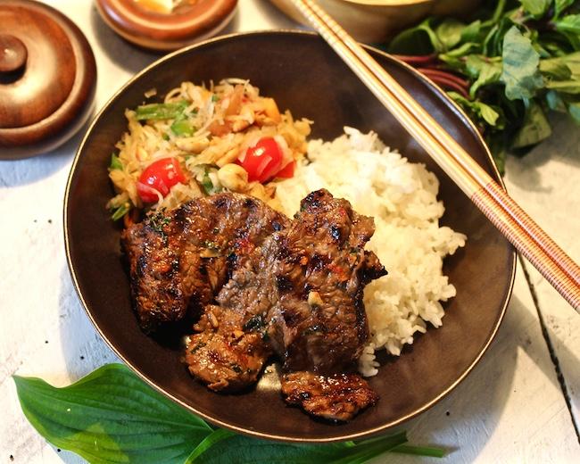 Thai Papaya Beef Salad