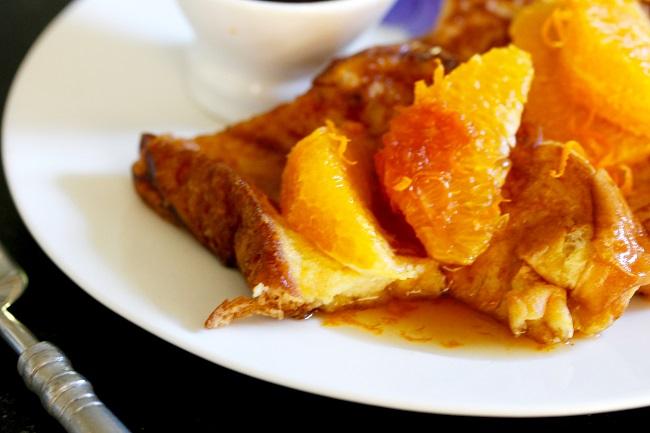 Orange Ginger French Toast